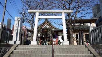 浅草浅間神社入口