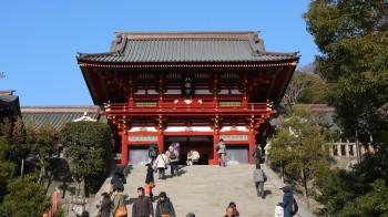 鶴岡八幡宮拝殿