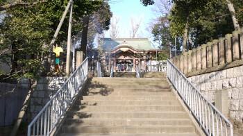 北沢八幡階段