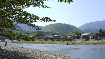小倉山・渡月橋