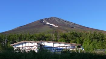 五合目駐車場からの富士