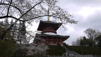 成田さん平和の大塔