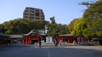 金神社全景