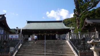 吉備津彦神社拝殿