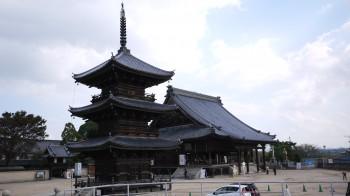 岡山西大寺三重塔