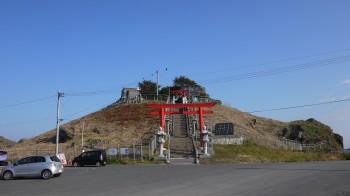 蕪島神社全景