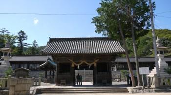 吉備津彦神社全景