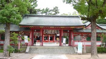 長田神社中門