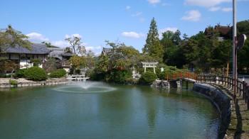 吉備津神社池
