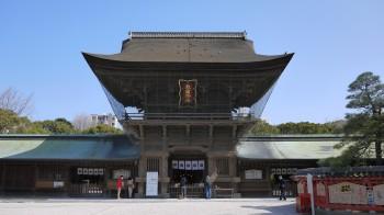 箱崎宮楼門