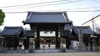 大阪天満宮門