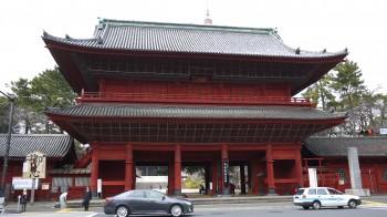 増上寺三門