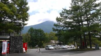 三本松から男体山