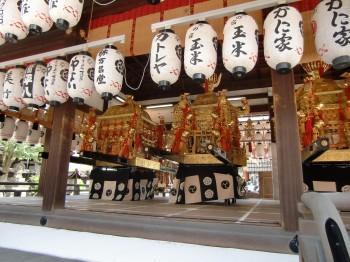 八坂神社みこし