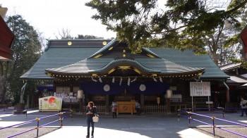 大国魂神社拝殿