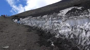 下山道雪渓