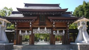 湊川神社 門