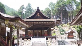日吉大社東本宮拝殿