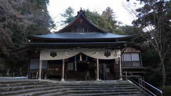 山口神宮神楽殿