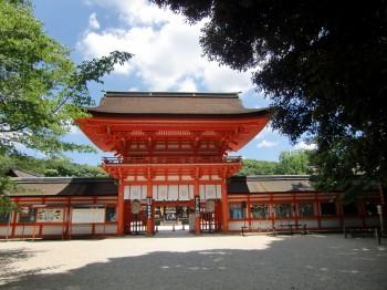 下賀茂神社楼門