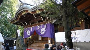 下谷神社本殿