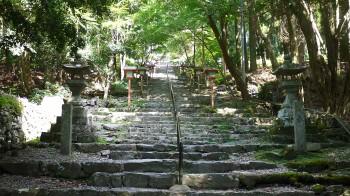 英彦神社参道