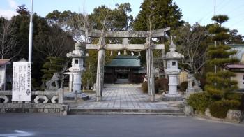 玉祖神社入り口
