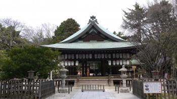 白峰宮拝殿