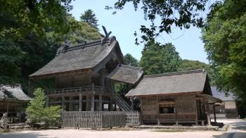 神魂神社全景