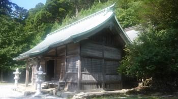 英彦神社奥宮