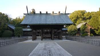宮崎神宮拝所