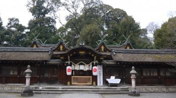 平野神社本殿