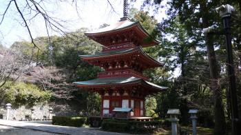 油山寺三重塔