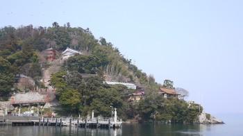 宝厳寺 竹生島全景