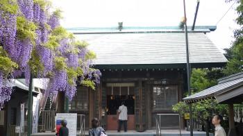 国領神社本殿