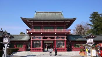 笠間稲荷楼門