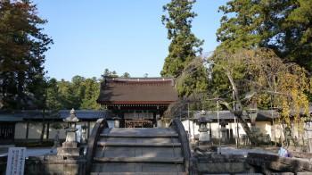 多賀大社太閤橋