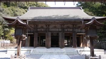 伊奈は神社拝殿・本殿