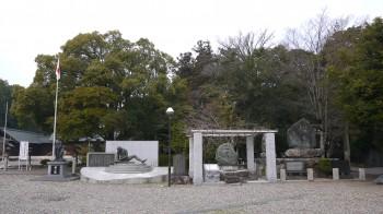 彦根護国神社境内