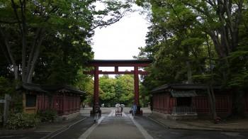 大宮氷川神社三の鳥居