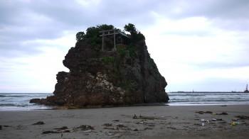 神話の舞台稲佐の浜