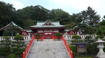 織媛神社全景