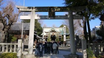 牛嶋神社入口