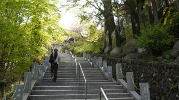 御岳神社参道階段300