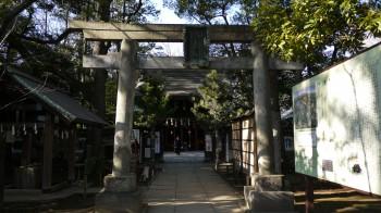 赤坂氷川神社鳥居