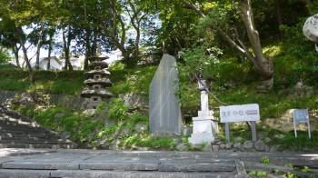塩釜神社芭蕉碑