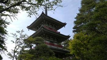 輪王寺三重塔