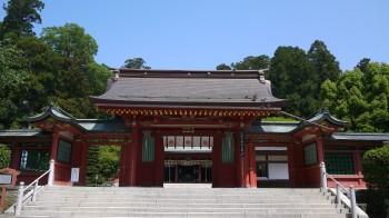 志波彦神社神門
