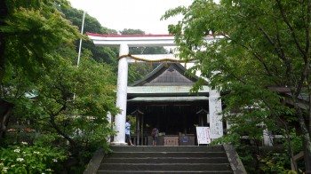 鎌倉宮拝殿