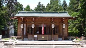 伊佐須美神社仮本堂